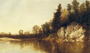 John Frederick Kensett - The Still Pool