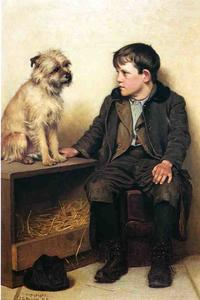 John George Brown - A Confab