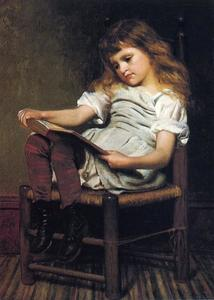 John George Brown - A Leisure Hour