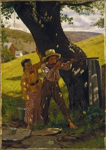 John George Brown - A Sure Shot