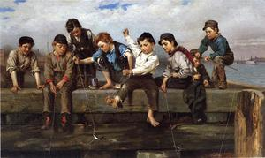 John George Brown - A Thrilling Moment