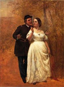 John George Brown - Courting
