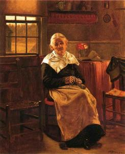 John George Brown - Dear Old Grannie