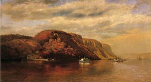 John George Brown - On the Hudson