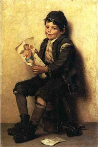 John George Brown - Paddy's Valentine