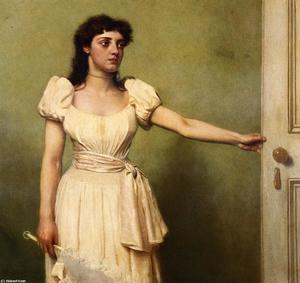 Order Art Reproduction : Parted by John George Brown (1831-1913, United Kingdom) | WahooArt.com
