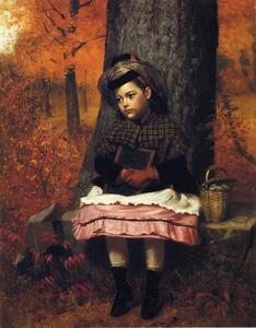 John George Brown - School Bound
