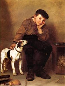 John George Brown - Sympathy