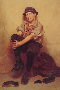 John George Brown - Taking It Easy