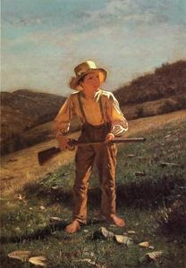 John George Brown - The Anxious Moment