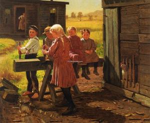 John George Brown - The Industrious Family