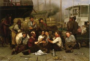 John George Brown - The Longshoremen's Noon