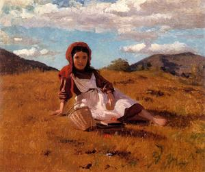 John George Brown - The Picnic Basket