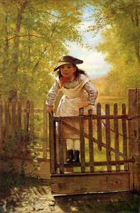 John George Brown - The Tomboy