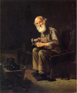John George Brown - The Village Cobbler