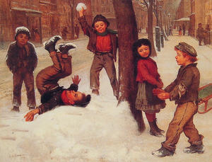 John George Brown - Winter Games