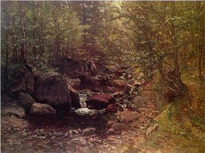 John Joseph Enneking - Brook in Spring