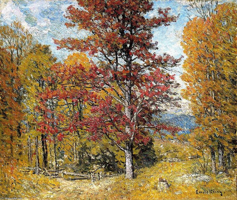 Early Autumn by John Joseph Enneking (1841-1916, United States) | Painting Copy | WahooArt.com