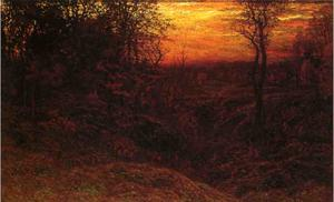 John Joseph Enneking - Landscape at Sunset