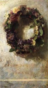 John La Farge - Agathon to Erosanthe, Votive Wreath