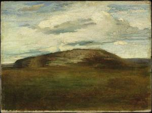John La Farge - Autumn. Mid-Day, Looking North, Table-Rock Hill, Peekskill, New York