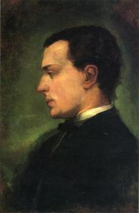 John La Farge - Portrait of Henry James, the Novelist