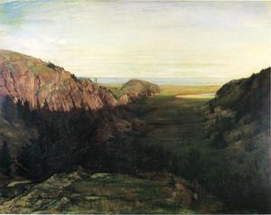 John La Farge - The Last Valley - Paradise Rocks