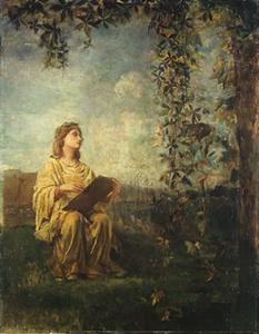 John La Farge - The Muse of Painting