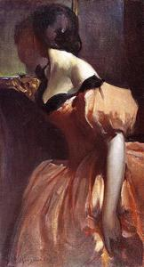 John White Alexander - Fancy Dress