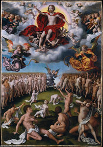 Joos Van Cleve - The Last Judgment