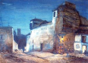 Jorge Apperley (George Owen Wynne Apperley) - Convent of the samples (Albaicín)