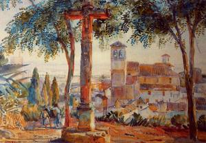 Jorge Apperley (George Owen Wynne Apperley) - The cross of Rauda