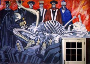 Jose Clemente Orozco - American Civilization-The Gods of the Modern World