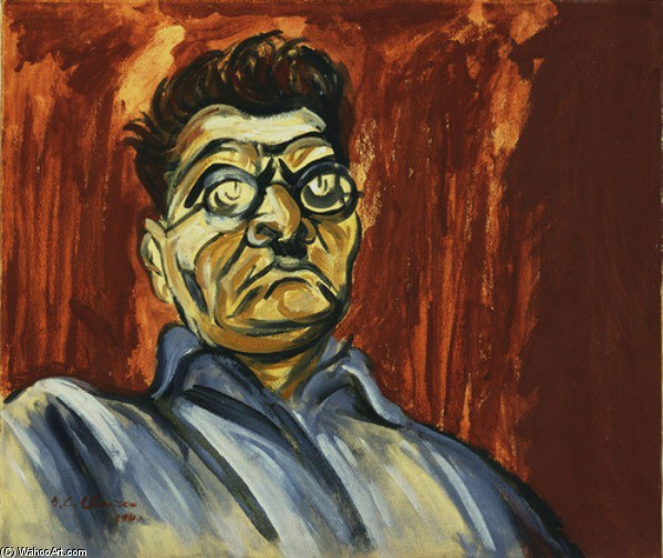 Self-Portrait by Jose Clemente Orozco (1883-1949, Mexico) |  | WahooArt.com