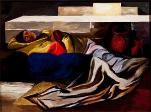 Jose Clemente Orozco - Sleeping (The Family)