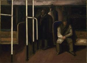 Jose Clemente Orozco - The Subway