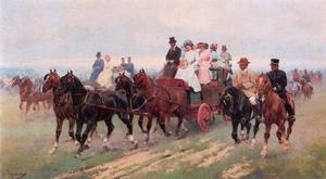 Josep Cusachs I - Return From The Races