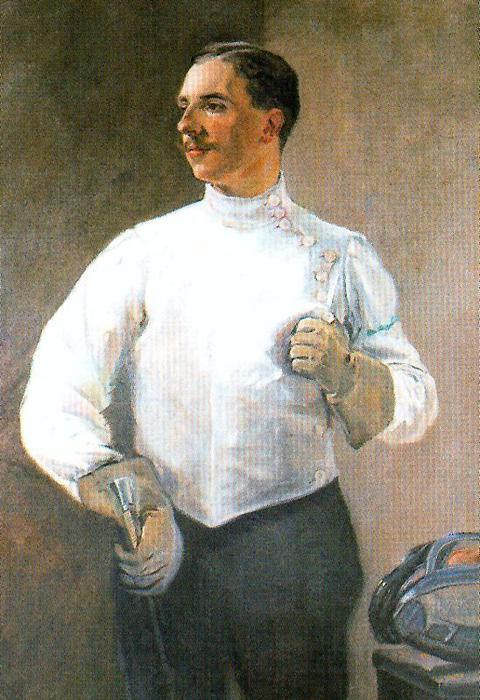 Fencing Master by José Villegas Cordero (1844-1921, Spain) | Art Reproduction | WahooArt.com