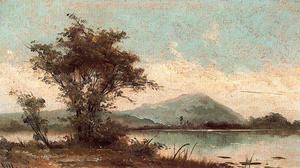 José Villegas Cordero - Landscape With Lake