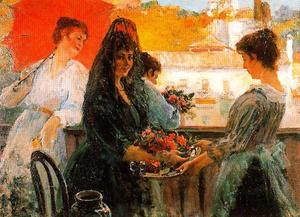 José Villegas Cordero - On The Balcony. (Fiesta)