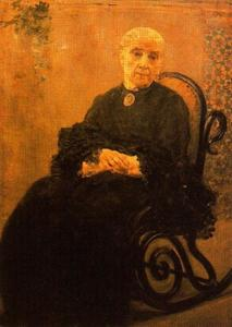 José Villegas Cordero - Portrait Of His Mother