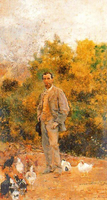 Portrait Of Manuel Ramos by José Villegas Cordero (1844-1921, Spain) | Art Reproduction | WahooArt.com