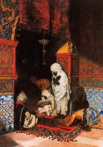 José Villegas Cordero - Praying In The Mosque