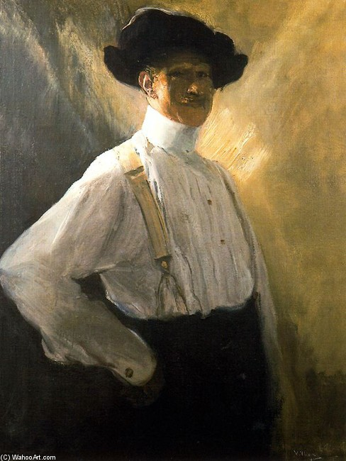 Order Painting Copy : Self-Portrait 3 by José Villegas Cordero (1844-1921, Spain) | WahooArt.com