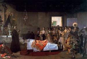 José Villegas Cordero - The Death Of Teacher