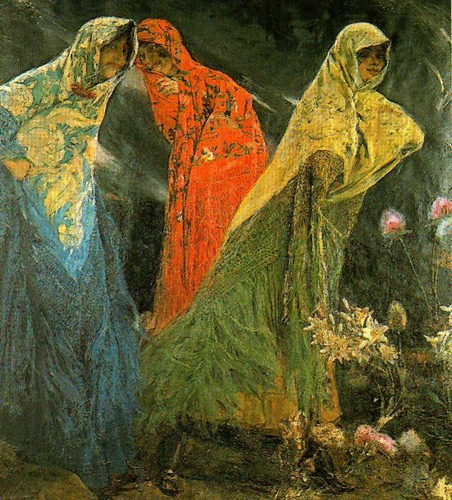 The Fates by José Villegas Cordero (1844-1921, Spain) | Museum Quality Reproductions | WahooArt.com