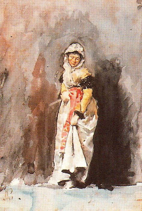 Order Art Reproduction : Woman With A Fan by José Villegas Cordero (1844-1921, Spain) | WahooArt.com