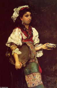Julius Leblanc Stewart - Spanish Girl