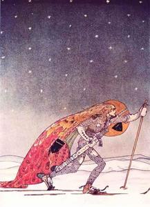 Kay Rasmus Nielsen - The Man Gave Him a Pair of Snowshoes