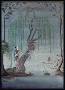 Kay Rasmus Nielsen - The Nightingale. At night, I listen to the Nightingale
